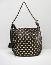 Yoki Fashion Eyelet Shoulder Bag