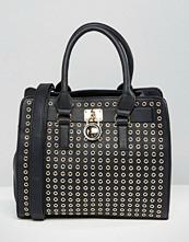 Yoki Fashion Eyelet Tote Bag