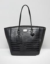 Marc B Kandi Croc Simple Shopper Bag