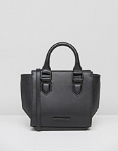 KENDALL + KYLIE Brook Mini Structured Tote Bag in Black