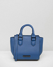 KENDALL + KYLIE Brook Mini Structured Tote Bag in Cobalt Blue