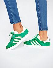 Adidas Originals Forest Green Suede Gazelle Trainers