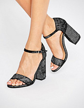 Glamorous Flare Heeled Sandals