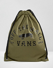 Vans Benched Drawstring Backpack In Khaki