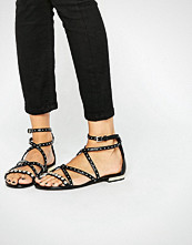 ALDO Zorba Stud Strappy Flat Sandals