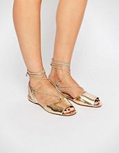 ALDO Aboing Ankle Strap Sling Flat Sandals