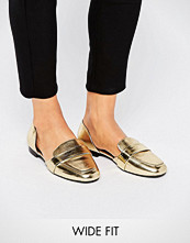 ASOS MYRA Wide Fit Flat Shoes