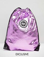 Hype Exclusive Kit Bag in Metallic Baby Pink