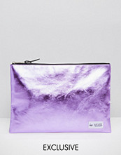 Hype Exclusive Pouch in Metallic Baby Pink