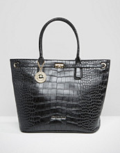 Versace Jeans Croc Bag with Buckle Detail