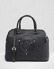 Versace Jeans Double Zip Tote Bag