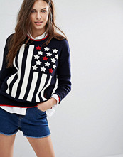 Tommy Hilfiger Americana High Neck Knit Jumper