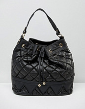 Liquorish Quilted Bucket Bag
