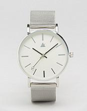 ASOS Silver Clean Mesh Strap Watch
