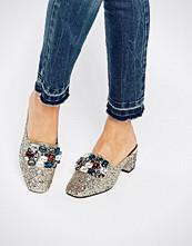 ASOS SOMETHING GOOD Embellished Heels