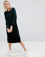 ASOS Velvet Long Sleeve Column Dress