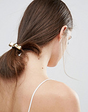 Johnny Loves Rosie Metal Bow Hair Bobble