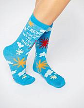 Blue Q Carpe Out Of This Diem Socks