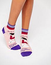 Blue Q Get Stuff Done Socks