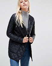 Cooper & Stollbrand Quilted Bomber Jacket In Black