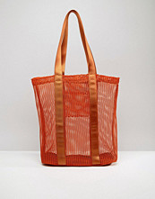 ASOS LIFESTYLE Mesh And Webbing Shopper Bag