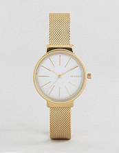 Skagen Gold Ancher Mesh Watch SKW2477