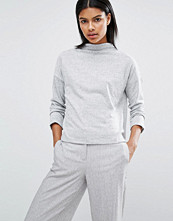 Vila High Neck Crop Jumper