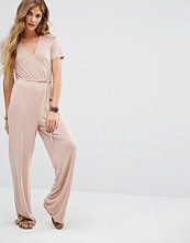 Honey Punch Easy Jumpsuit With Tie Waist