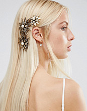 ASOS Occasion Metal Flower Side Hair Clip