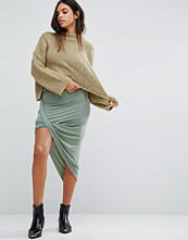 Maison Scotch Twisted Asymmetric Skirt
