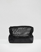 ASOS LIFESTYLE Mesh and Nylon Make Up Bag