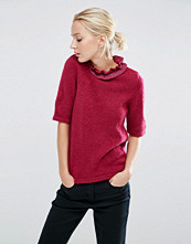 ASOS Jumper with Ruffle High Neck