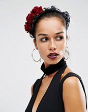 Suzywan DELUXE Suzywan Halloween Lace & Flower Headband