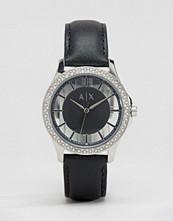 Armani Exchange Smart Leather Watch AX5253
