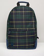 Mi-pac Mi Pac Backpack In Tartan