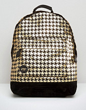 Mi-pac Mi Pac Backpack In Metallic Houndstooth
