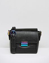 Skinnydip Mini Cross Body Bag with Iridescent Fastening