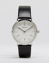 DKNY Minetta Black Leather Watch NY2506
