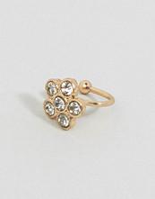 ASOS Crystal Flower Ear Cuff