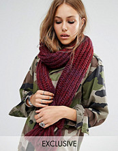 Reclaimed Vintage Long Cable Scarf