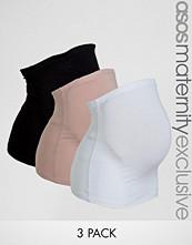ASOS Maternity Jersey Bump Band 3 Pack