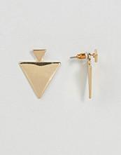 ASOS Flat Metal Triangle Swing Earrings