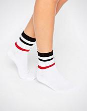 ASOS Stripe Rib Ankle Socks