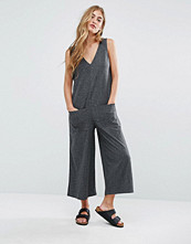 Pull&bear Ribbed Oversized Jumpsuit