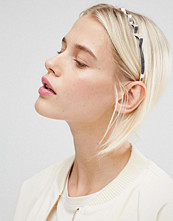 Monki Zig Zag Metal Headband