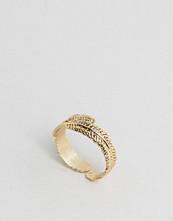 Orelia Leaf Ring