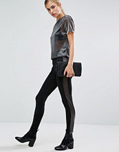 Miss Selfridge Side Mesh Legging