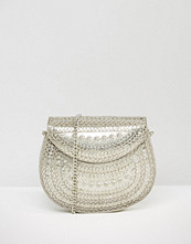 Glamorous Metal Cross Body Bag