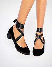 ASOS SO TRUE Lace Up Heels