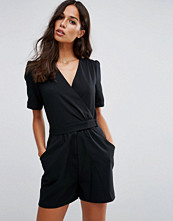 ASOS 40'S Wrap Tea Playsuit